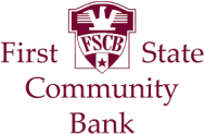 Thank you, First State Community Bank, for your support!